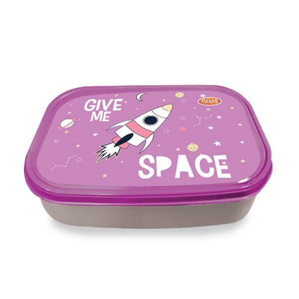 LUNCH BOX - ATLAS LARGE CLEAR - 008008778