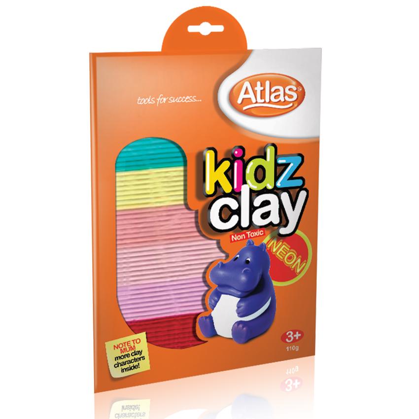 ATL KIDDY CLAY NEON 12PKT - 008008848