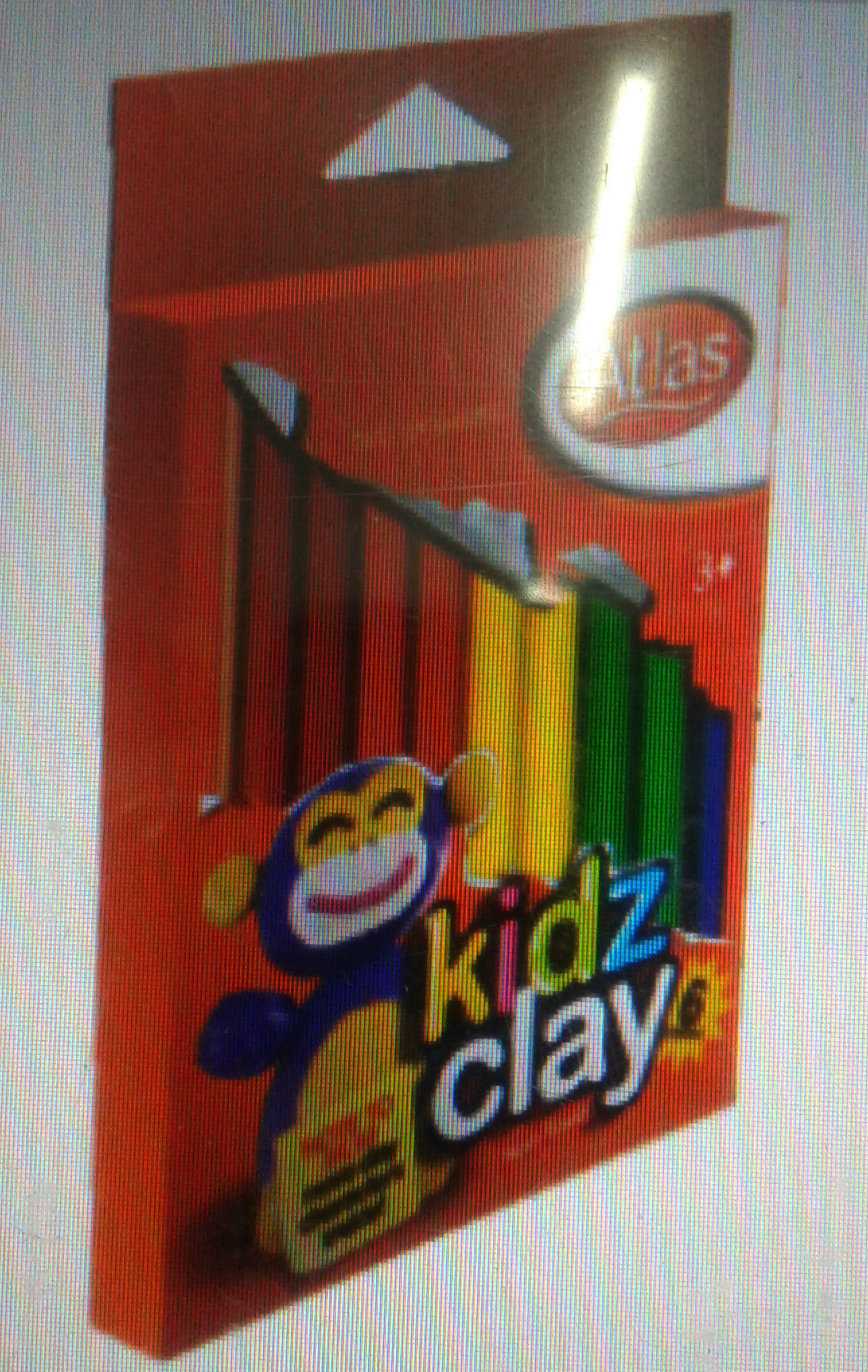 CLAY - ATLAS KIDZ CLAY 12 COLOURS - 02001876