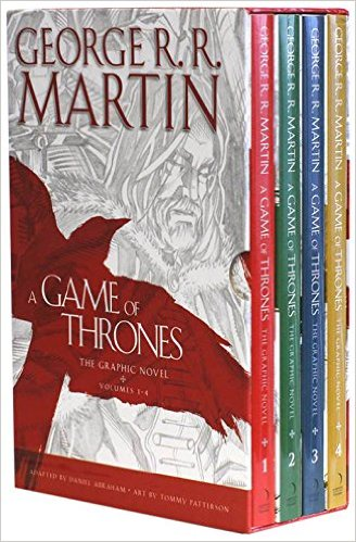 A Game of Thrones : The Complete Graphic Novels Volumes 1-4 -  George R. R. Martin - 9780007950300