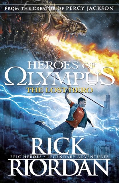 HEROES OF OLYMPUS - LOST HERO -  Rick Riordan - 9780141325491