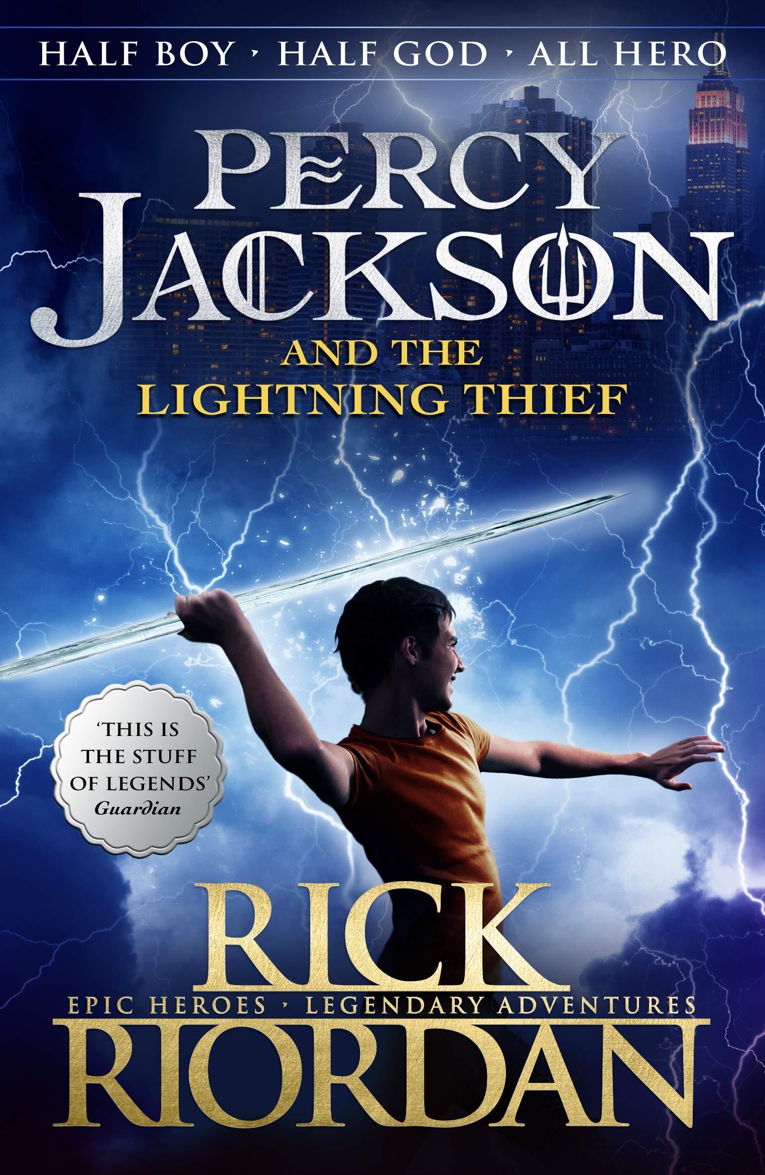 PERCY JACKSON - LIGHTNING THIEF - FILM TIE IN -  Rick Riordan - 9780141329994
