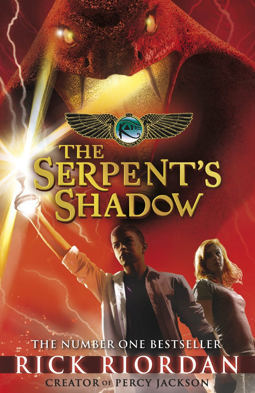 Kane Chronicles: The Serpent's Shadow - 9780141335704