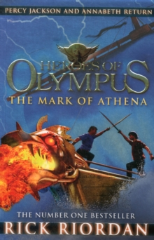 HEROES OF OLYMPUS - MARK OF ATHENA -  Rick Riordan - 9780141335759