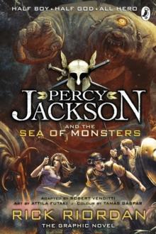 PERCY JACKSON - SEA OF MONSTERS - GRAPHIC NOVEL -  Rick Riordan - 9780141338255