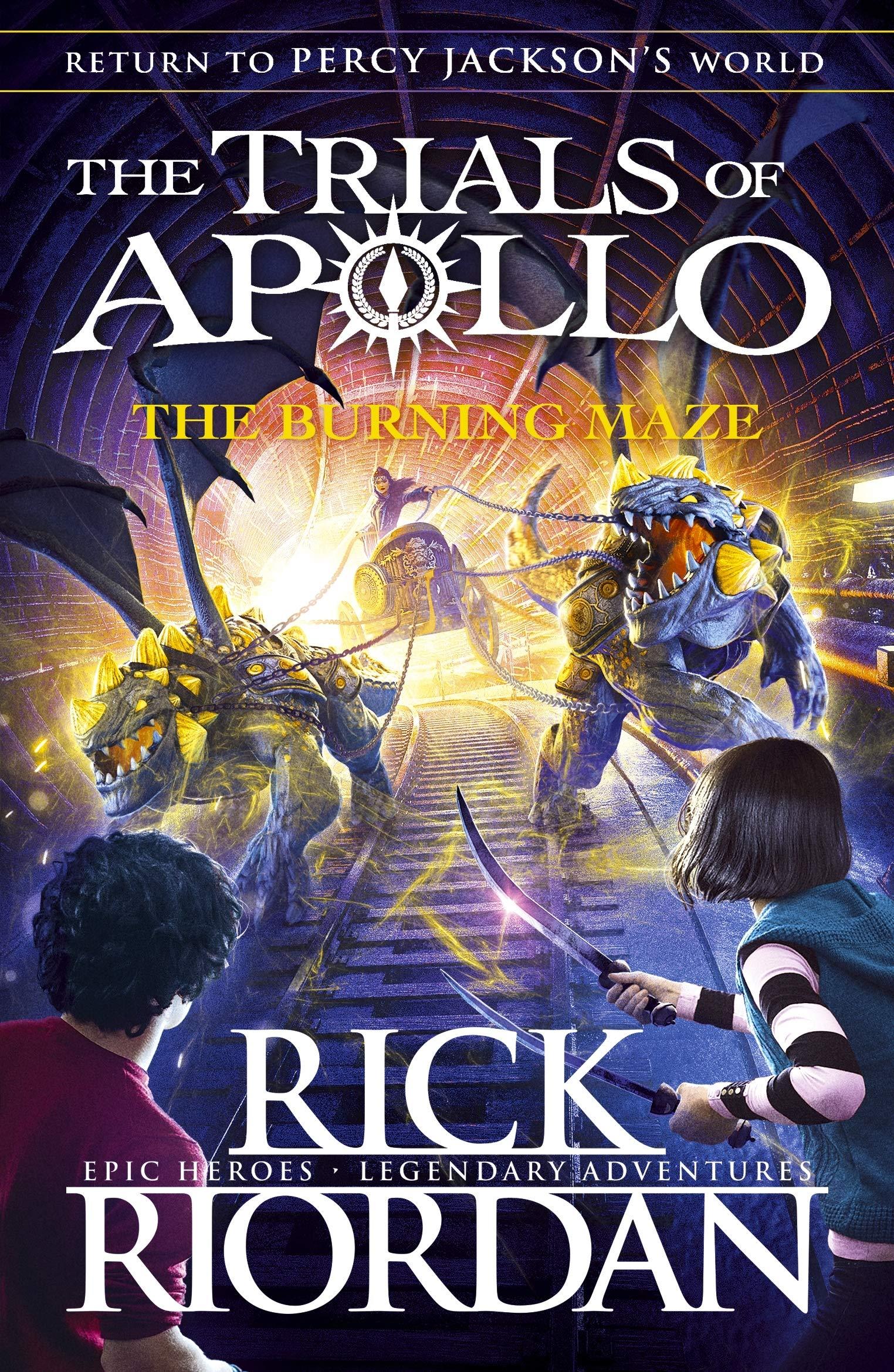 Burning Maze (The Trials of Apollo Book 3) - 9780141364018
