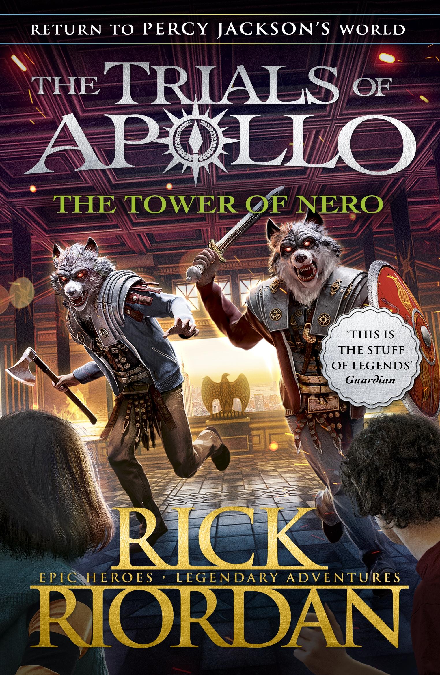 Tower of Nero (The Trials of Apollo Book 5) - Riordan Rick - 9780141364094