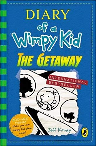DIARY OF A WIMPY KID - GETAWAY - 9780241344279
