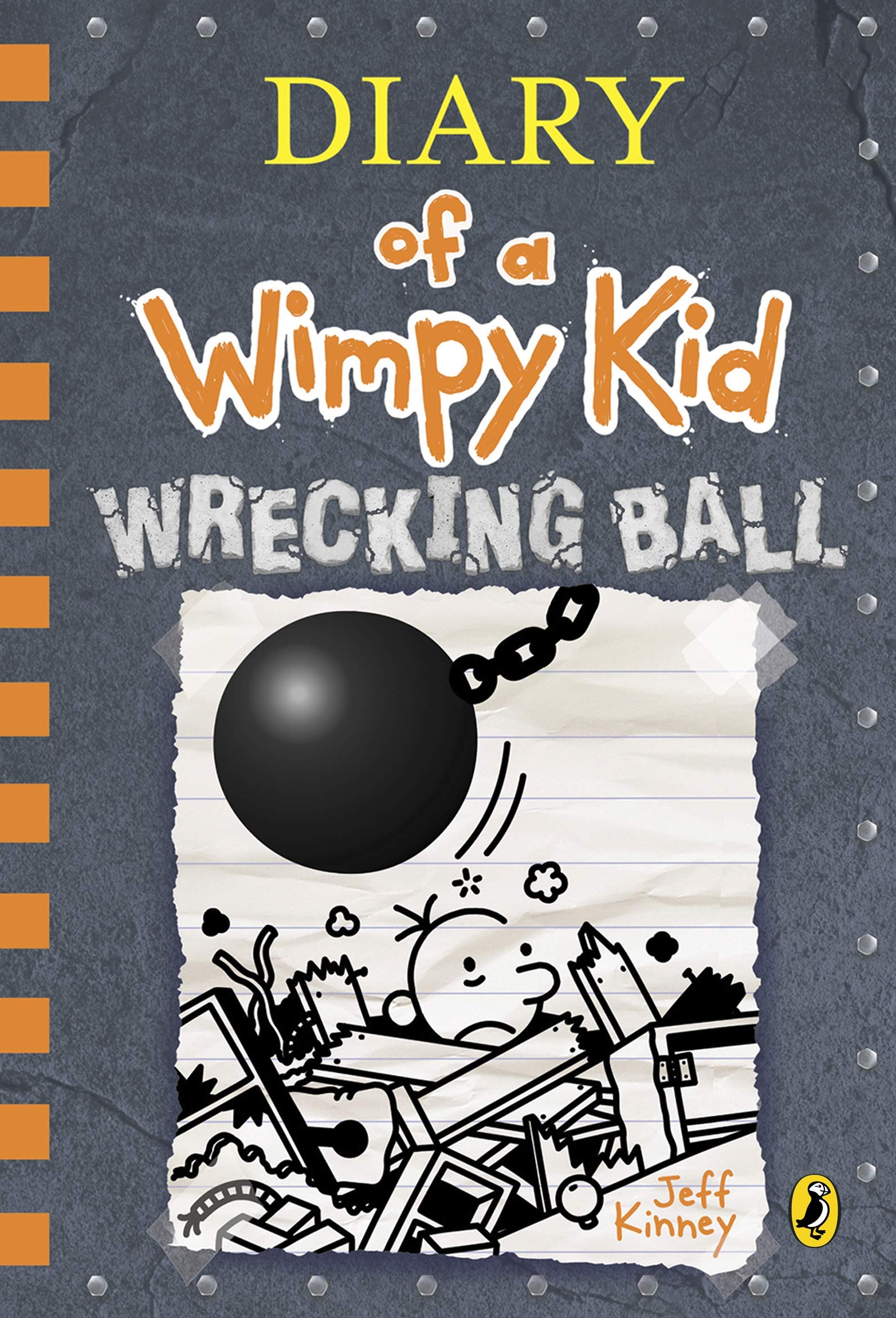 DIARY OF A WIMPY KID - WRECKING BALL - 9780241412039