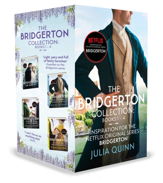 Bridgerton Collection: Books 1 - 4 - 9780349430188