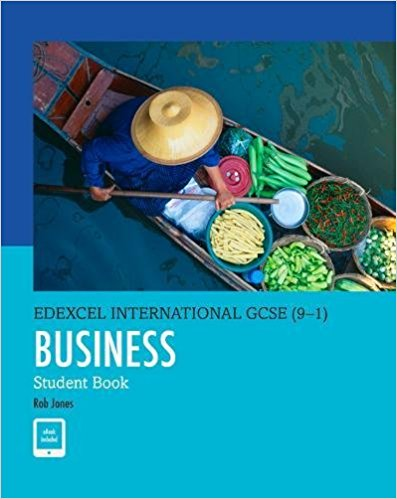 Edexcel International GCSE (9-1) Business Student Book - 9780435188634