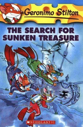 GERONIMO STILTON - 25 - SEARCH FOR SUNKEN TREASURE -  Geronimo Stilton - 9780439841160