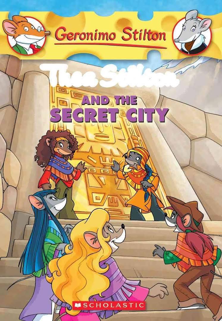 GS THEA STILTON - 04 - AND THE SECRET CITY -  Kedai Buku - 9780545150613
