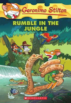 GERONIMO STILTON - 53 - RUMBLE IN THE JUNGLE -  Geronimo Stilton - 9780545481939