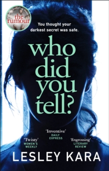 Who Did You Tell? - 9780552175517