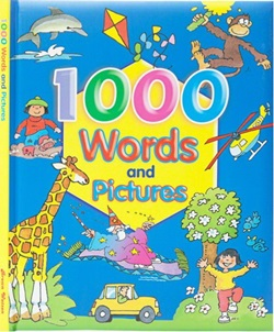 1000 WORDS AND PICTURES - 9780709717201
