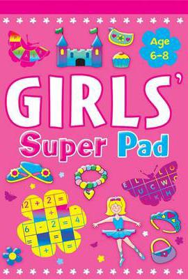 GIRLS ACTIVITY SUPER PAD - 9780709719175