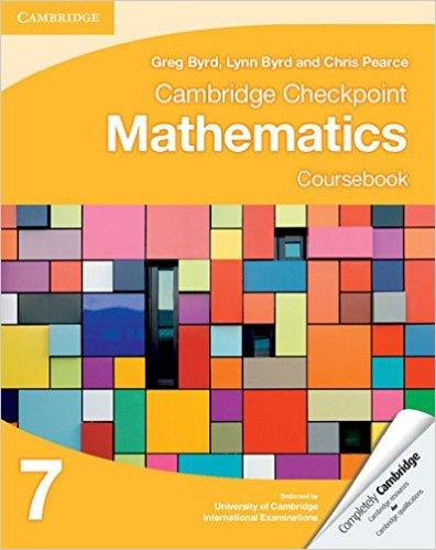 Cambridge Checkpoint Mathematics Coursebook 7 - 9781107641112
