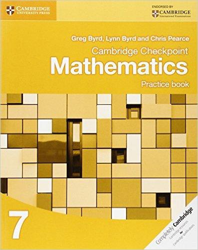 Cambridge Checkpoint Mathematics Practice Book 7 - 9781107695405