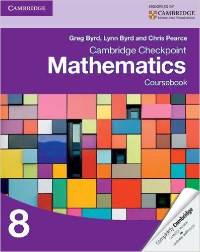 Cambridge Checkpoint Mathematics Coursebook 8 - 9781107697874