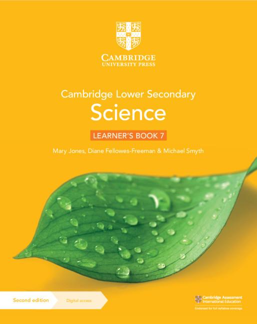 Cambridge Lower Secondary Science Learner's Book 7 with Digital Access (1 Year) - 9781108742788