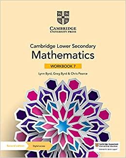 Cambridge Lower Secondary Mathematics Workbook 7 with Digital Access (1 Year) - 9781108746366