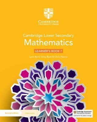 Cambridge Lower Secondary Mathematics Learner's Book 7 with Digital Access (1 Year) - 9781108771436