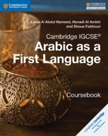 Cambridge IGCSE Arabic as a First Language Coursebook - Fakhouri Shoua - 9781316634516