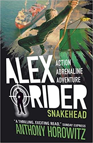 ALEX RIDER - SNAKEHEAD - ANTHONY HOROWITZ - 9781406360257