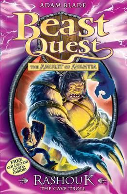BEAST QUEST - 21 - RASHOUK CAVE TROLL -  Adam Blade - 9781408303788