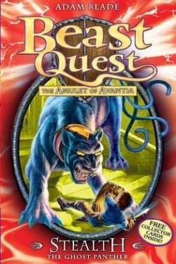 BEAST QUEST - 6 - STEALTH GHOST PANTHER -  Adam Blade - 9781408303801