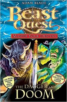 BEAST QUEST - MASTER YOUR DESTINY - DAGGER OF DOOM -  Adam Blade - 9781408314067