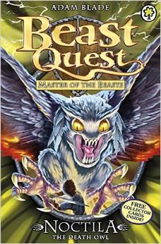 BEAST QUEST - 55 - NOCTILA DEATH OWL -  Adam Blade - 9781408315187