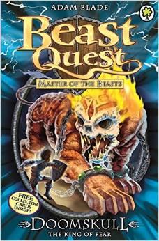 BEAST QUEST - 60 - DOOMSKULL KING OF FEAR -  Adam Blade - 9781408315231