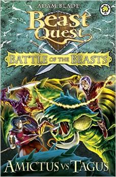 BEAST QUEST - BATTLE OF BEASTS - AMICTUS VS TAGUS -  Adam Blade - 9781408318683