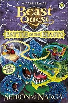 BEAST QUEST - BATTLE OF BEASTS - SERPON VS NARGA -  Adam Blade - 9781408324097