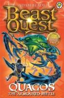 BEAST QUEST - 86 - QUAGOS THE ARMOURED BEETLE -  Adam Blade - 9781408334935
