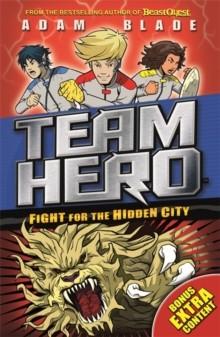 Fight for the Hidden City -  Adam Blade - 9781408343593