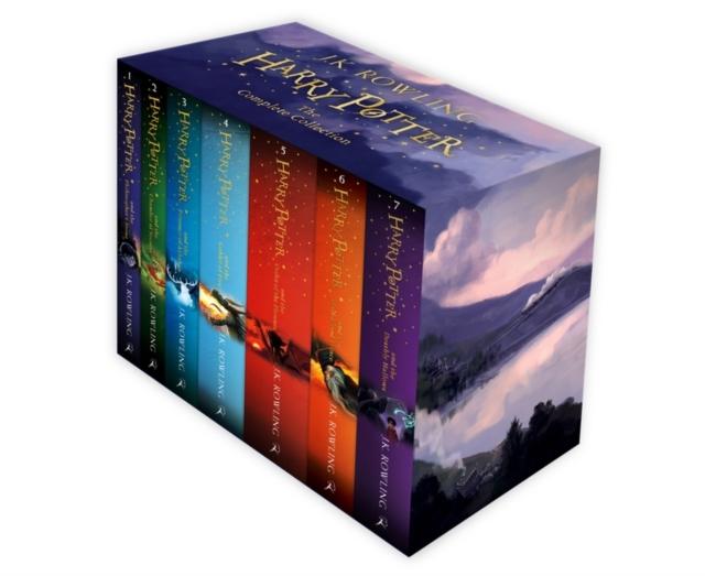 HARRY POTTER BOX SET -  J. K. Rowling - 9781408856772