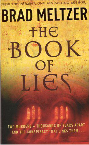 THE BOOK OF LIES -  Brad Meltzer - 9781444735635