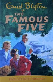 FAMOUS FIVE 8 - FIVE GET INTO TROUBLE -  Enid Blyton - 9781444936384