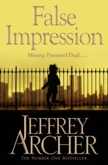 False Impression -  Jeffrey Archer - 9781447218159