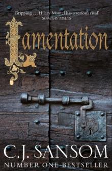 LAMENTATION -   C  J SANSOM - 9781447289180
