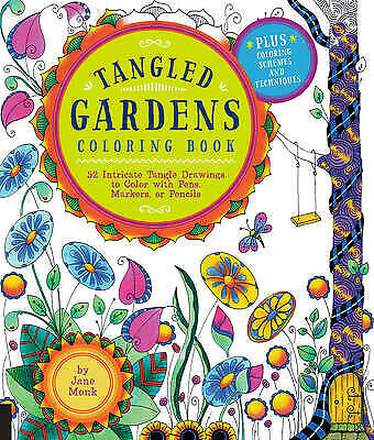 TANGLED GARDENS COLORING BOOK - 9781589239357