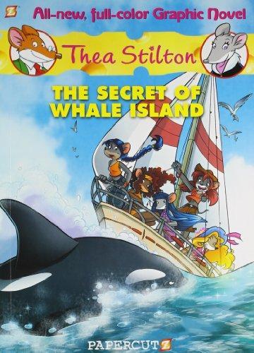 THEA STILTON GRAPHIC #01 THE SECRET OF WHALE ISLAND -  Kedai Buku - 9781597074353