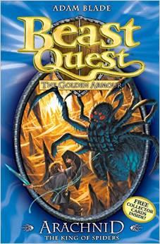 BEAST QUEST - 11 - ARACHNID KING OF SPIDERS -  Adam Blade - 9781846169922