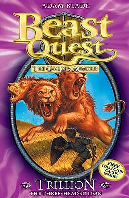 BEAST QUEST - 12 - TRILLION THREE - HEADED LION -  Adam Blade - 9781846169939