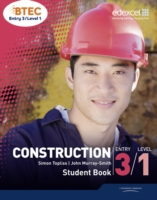 BTEC Entry 3/Level 1 Construction Student Book - 9781846909207