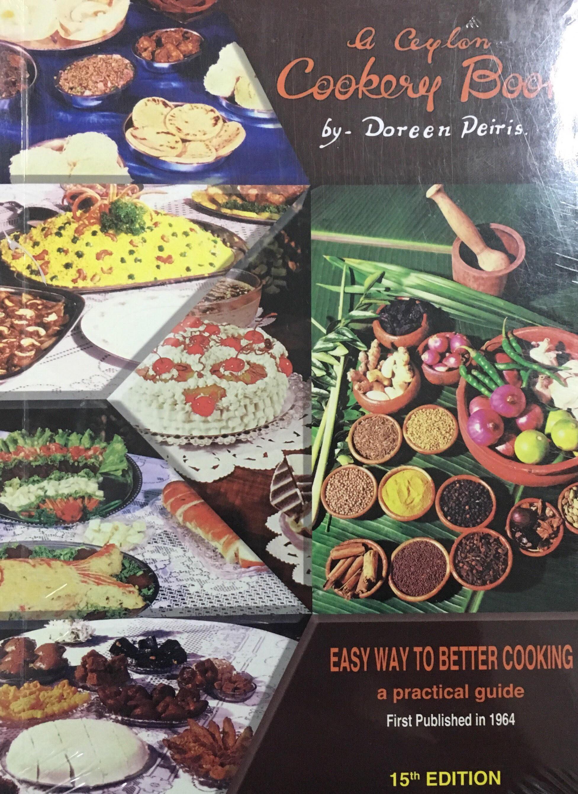 A Ceylon Cookery Book - 9789553802903