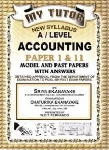 My Tutor - G.C.E A/L - Accounting -  W. O. T. Fernando - 9789555936521